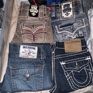 Cheap Pre-owned Designer Jeans